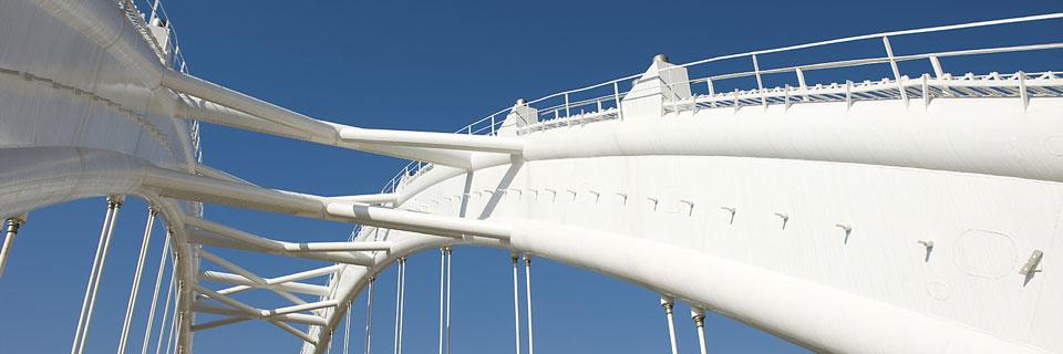 Civil engineering bridge