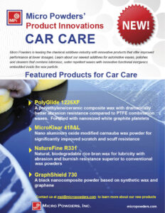 Micro Powders Car Care Products